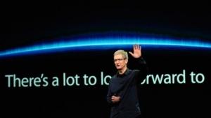 Tim Cook bei der iPad-3-Produkteinführung im März 2012