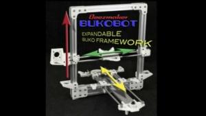 Bukobot: größere Modelle als Bausatz oder fertig montiert