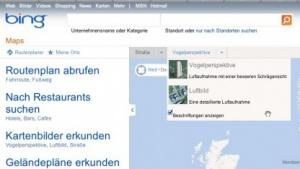 Bing Maps - die Streetside-Ansicht ist verschwunden.
