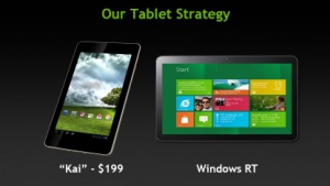 Kai und Windows-Tablets sind Nvidias Ziel.