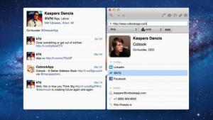 Adressbuch gleicht Daten mit Facebook, LinkedIn und Twitter ab.