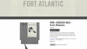 USB-Stecker zum Auslesen: Album von Fort Atlantic auf einem NES-Speichermodul