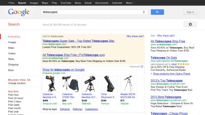 Google-Produktsuche wird kostenpflichtig.