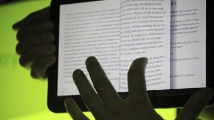 Sammelklage ist effizienter: Google Books App auf einem Tablet