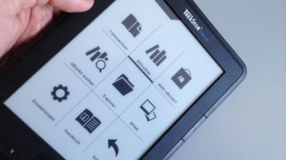 Der Trekstor Liro Ink kostet rund 70 Euro und gehört damit zu den günstigsten E-Readern.