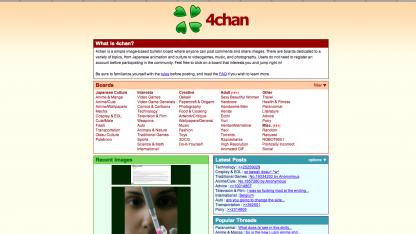 4chan.org auf Twitter-Account umgeleitet