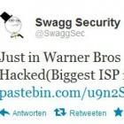 Sicherheit: Swaggsec bricht bei China Telecom und Warner ein