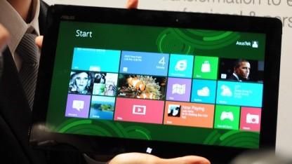 Asus zeigt zwei neue Windows-Tablets.