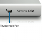 Matrox: Thunderbolt-Dock mit USB 3.0 und Gigabit-Ethernet