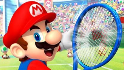 Mario Tennis Open Artwork