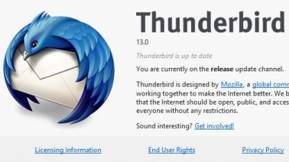 Thunderbird 13 kann selbst E-Mail-Adressen erstellen.