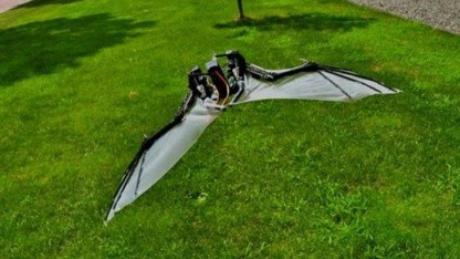 Fliegt noch nicht ganz stabil: Batbot