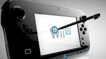 Schwarzes Wii U Gamepad