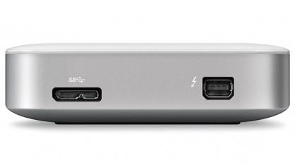 Thunderbolt und USB 3.0 gemeinsam