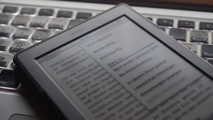 Der Kindle 4 kann das neue Format KB8 lesen.