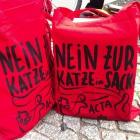 "Acta-Proteste: ""Es ist die Katze im Sack!"""