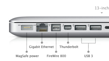 Die alten Macbook-Modelle bekommen USB 3.0.