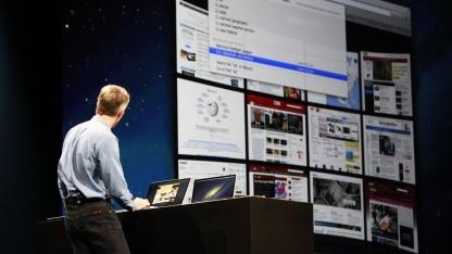 OS X 10.8 alias Mountain Lion erscheint im Juli für 20 US-Dollar.