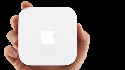 Neuer kompakter WLAN-Router mit Airplay