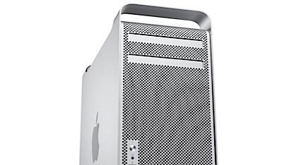 Das unveränderte Gehäuse des Mac Pro