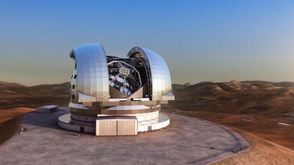 E-ELT (künstlerische Darstellung): Suche nach Exoplaneten