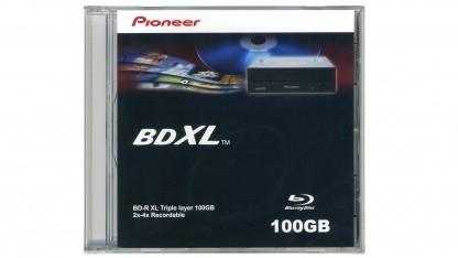 BDXL-Medien sind in Europa lieferbar.