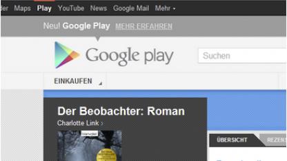 Books on Google Play ist in Deutschland gestartet.