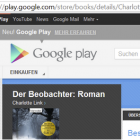 E-Book-Shop: Books on Google Play in Deutschland gestartet