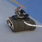 Windenergie: GE überprüft Windturbinen mit senkrecht fahrendem Roboter
