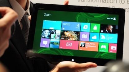 Asus-Tablet mit Windows RT