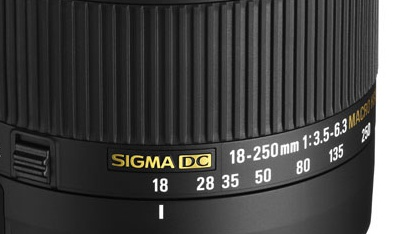 Sigma 18-250mm F3,5-6,3 DC Macro (OS) HSM