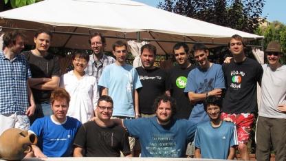 Die KDE-Plasma-Entwickler in Spanien