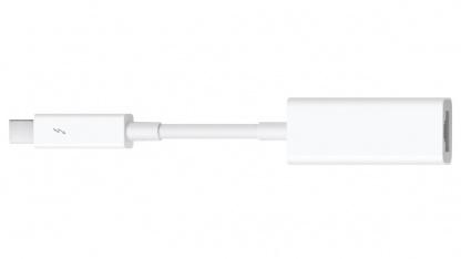 Thunderbolt-fähige Macs mit Mac OS X ab 10.7.4 können den neuen Gigabit-Adapter nutzen.