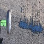 Roboter: Straßenreparatur mit Asphaltstrahldrucker