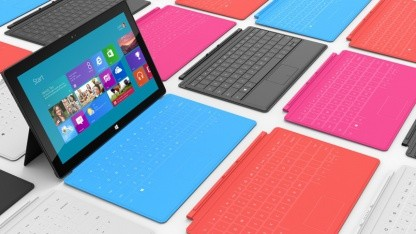 Microsoft Surface heißt die neue Tabletserie von Microsoft.
