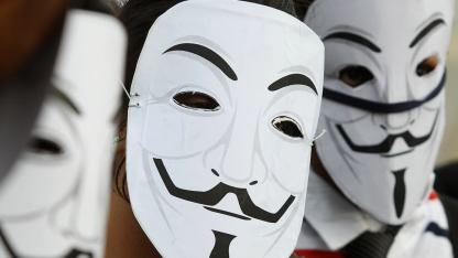 Anonymous-Teilnehmer hatten auf Facebook zu einer DDoS-Attacke (Distributed Denial of Service) aufgerufen.
