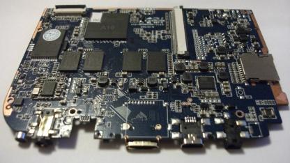 Das Gooseberry Board mit dem A10-SoC von Allwinner