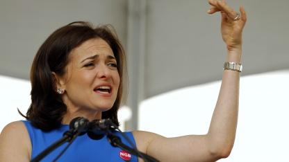 Facebook-COO Sheryl Sandberg