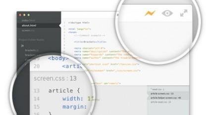 Inline-Editing und Echtzeitvorschau mit Brackets