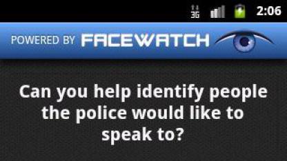 Facewatch ID: Fahndungsaufruf auf dem Smartphone