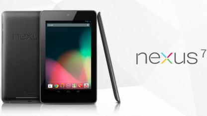 Googles erstes Tablet sieht sehr schlicht aus.