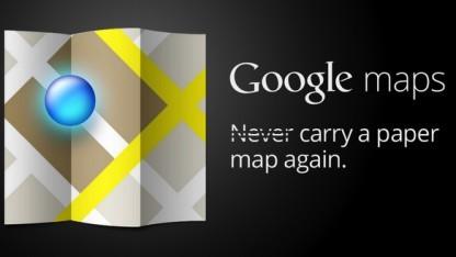 Google Maps ersetzt keine Papierkarten.