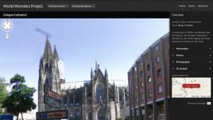 Kölner Dom im World Wonders Project: Street-View-Ansichten und Zusatzmaterial