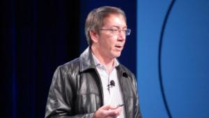 Will Wright auf der Where-Konferenz im April 2012