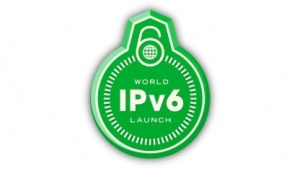 Logo der Internet Society zum IPv6-Start am 6. Juni 2012