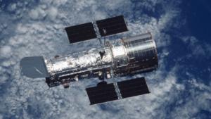 Weltraumteleskop Hubble: kürzere Brennweite für den Blick zur Erde