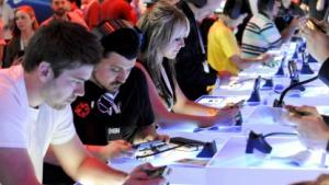 Besucher der E3 2012