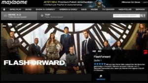 Bei Maxdome finden sich nun mehr US-Fernsehserien.