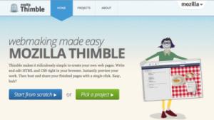 Webeditor Thimble veröffentlicht