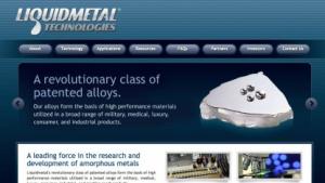 Apple setzt weiter auf flüssiges Metall von Liquidmetal Technologies.